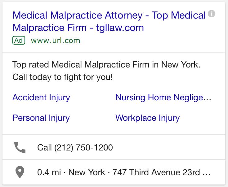 Google上的移动广告示例 - 在Google上投放广告/如何在Google上投放广告